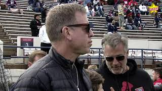 Jackson State wins 53-0 in Deion Sanders' debut, with Troy Aikman in attendance