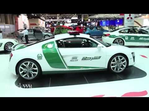 Dubai Auto Show '13 shows off best police cars