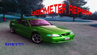 How to fix a Odometer Easy!