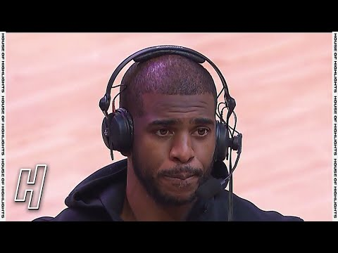 Chris Paul Talks Game 2 Win, Postgame Interview - Nuggets vs Suns   2021 NBA Playoffs