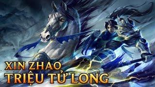 Xin Zhao Triệu Tử Long - Warring Kingdoms Xin Zhao - Skins lol