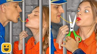 7 Weird Ways to Sneak Food into Jail! Food Hacks & DIY Ideas by Mr Degree