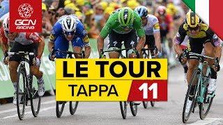 Tour de France 2019, sintesi della tappa 11: Albi-Toulouse