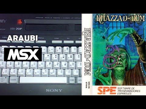 Khazzad-Dum (SPE, 1989) MSX [441] Walkthrough Comentado