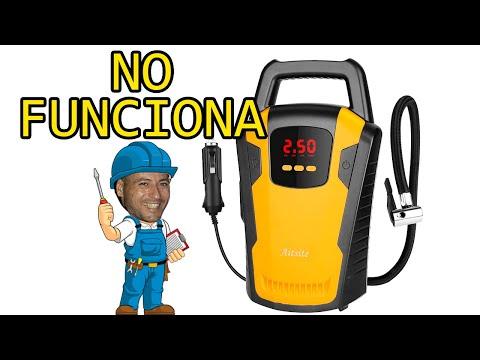 COMPRESOR BOMBA DE AIRE PARA AUTOMOBIL NO FUNCIONA