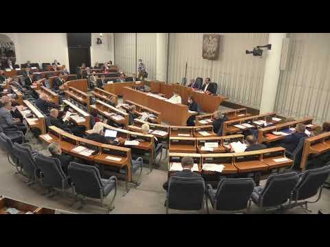 Posiedzenie 3 komisji senackich ws. wyborów prezydenckich - 21 maja 2020 r. cz. 2