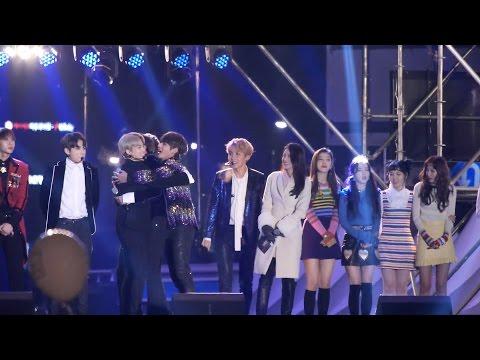 161231 방탄소년단 (BTS) 레드벨벳 (Red Velvet) 새해 카운트다운  [전체] 직캠 Fancam (2016 MBC 가요대제전) by Mera