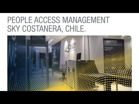 People Access Management Sky Costanera, Chile [English]