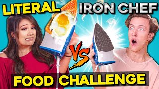 The Literal Iron Chef Food Challenge | People vs. Food
