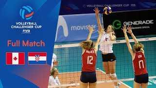CANADA vs. CROATIA | Full Semi-Final | 2019 FIVB Women's Volleyball Challenger Cup