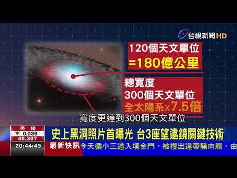 大突破!地表最強望遠鏡首拍下黑洞照片
