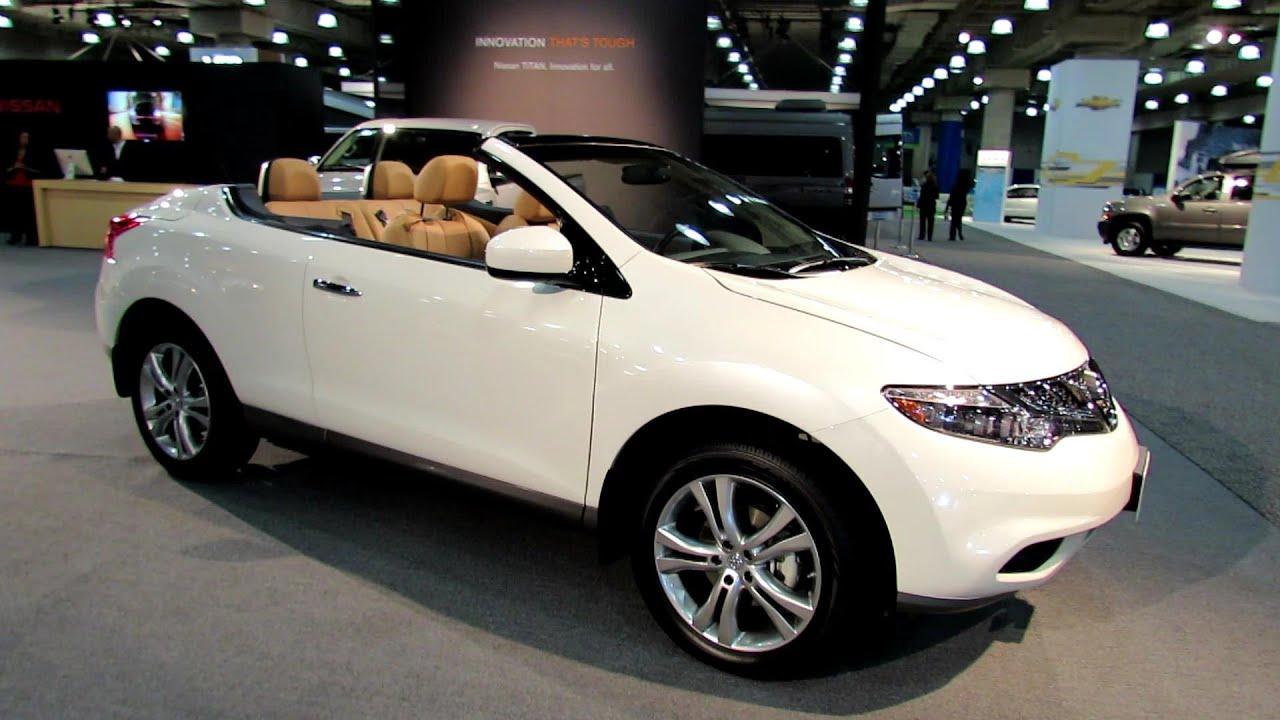 2012 Nissan Murano Cross Cabriolet Convertable Exterior