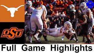 Texas vs #6 Oklahoma State Highlights (F/OT) | College Football Week 9 | 2020 College Football