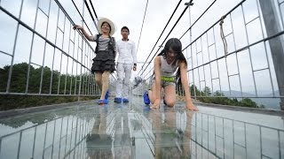 Largest Glass Bridge Worldwide in China
