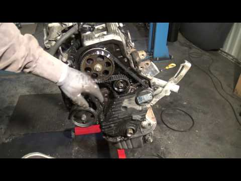 How To Replace Timing Belt Toyota Camry 2.2 5S FE Engine