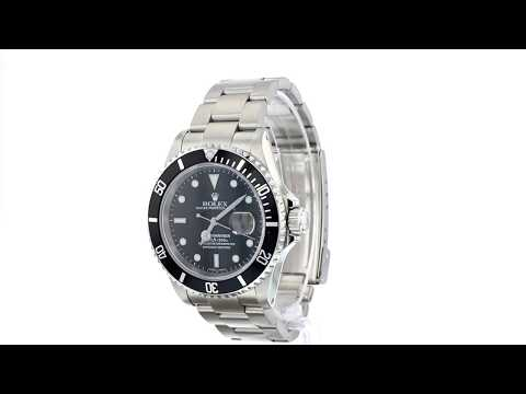 Rolex Oyster Perpetual Submariner Day Date - 16610/P773502 - YEAR 2000