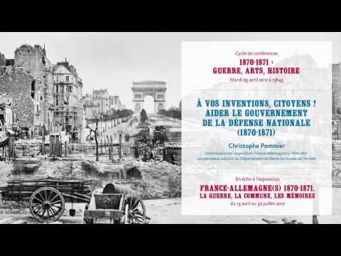 Conférence du 25/04/2017 : À vos inventions, citoyens !