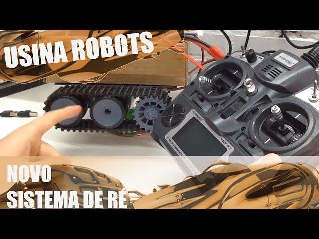 NOVO SISTEMA DE RÉ | Usina Robots US-2 #029
