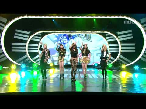 F(X) - Danger, 에프엑스 - 피노키오, Music Core 20110528