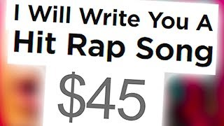 I PAID A STRANGER TO MAKE ME THE NEXT BIG RAPPER