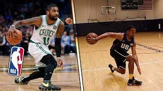 Remaking Kyrie Irving's BEST Career Plays Basketball Challenge!