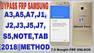 Samsung Galaxy J7 Nxt Google lock reset Frp New 2018