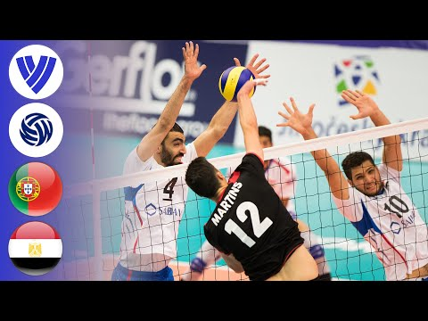 Portugal vs. Egypt - Full Match | Men's Volleyball World League 2017