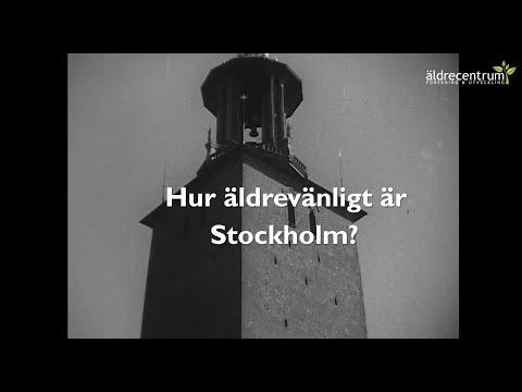 Hur äldrevänligt är Stockholm?