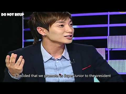 ENGSUB Leeteuk becomes an object of suspicion for promoting Super Junior