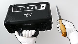 Unboxing Hitman 2 Ultra Rare Press Kit (Limited PS4 Collector's Edition)