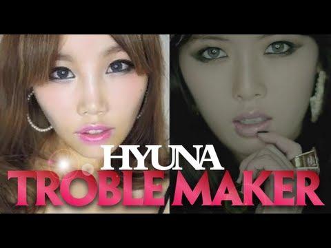 【BrenLui大佬B】HyunA Trouble Maker Makeup 泫雅