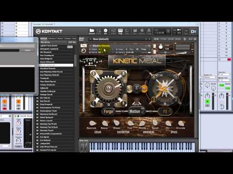Kinetic Metal for Native Instruments Kontakt - VST Instrument Video Tour from VST Plugin Labs