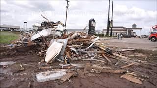 El Reno, OK EF3 Tornado Damage - 5/26/2019