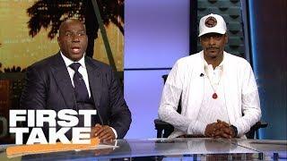 Stephen A. Smith, Snoop Dogg and Magic Johnson discuss Colin Kaepernick | First Take | ESPN