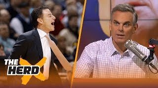 Rick Pitino 'effectively fired' at Louisville - Colin Cowherd reacts   THE HERD