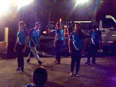 coreografia cristiana para jovenes remix- tu reinas(rojo) alertense