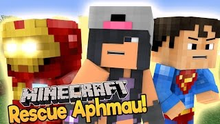 Minecraft Baby Aphmau - Baby Iron Man and Baby Superman to The Rescue! (Minecraft Daycare)