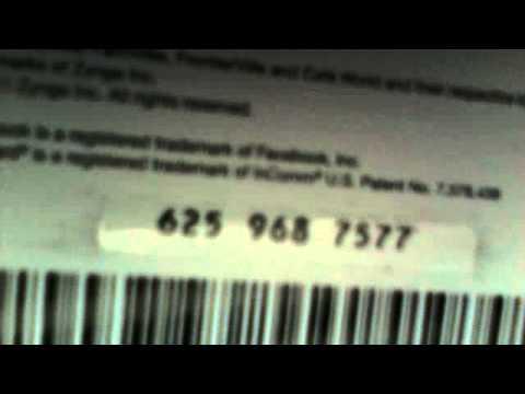 ZYNGA GAME CARD CODE - YouTube