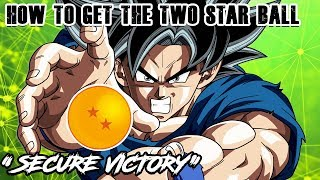 """THE 2 STAR DRAGON BALL IS LIVE! """"SECURE VICTORY"""" 