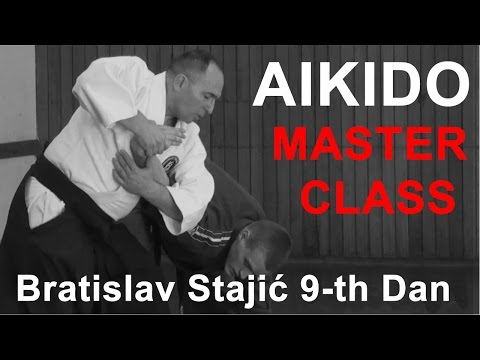 Master class | International Aikido Academy | Bratislav Stajic | 9-th Dan