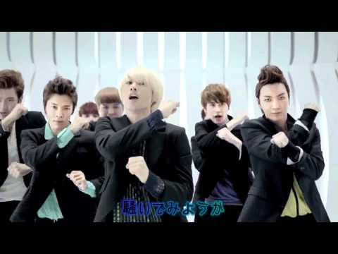 SUPER JUNIOR 『 Mr.Simple 』日本版 [ 歌詞つき ] MV