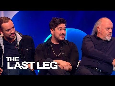 Marcus Mumford Loves Knickers The Cow - The Last Leg