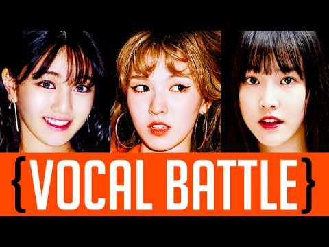 Wendy VS Jihyo VS Yuju (Main Vocal Battle)