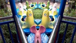 Trò chơi hải cẩu vượt thác tại khu du lịch đầm sen 2019