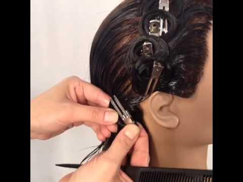 State Board Pin Curls With Arrojo Cosmetology School Youtube