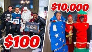 SIDEMEN $10,000 vs $100 CHRISTMAS DAY