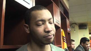 Lakers guard Andrew Goudelock on playing at backup point guard