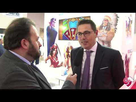 Simone Pachera, ceo Octavian Gaming Solutions a Enada Roma 2018