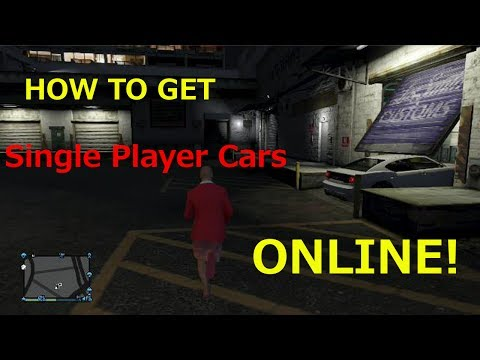 GTA 5 Online: How to bring Single Player Cars to ONLINE After Patch 1.09! EASY (Xbox360 and PS3)