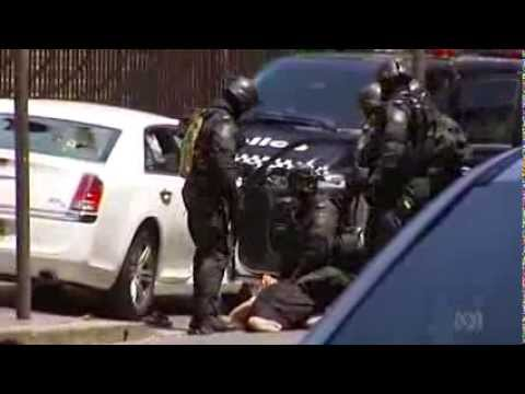 Riot Squad Swoop To End Standoff Outside NSW Parliament - Smashpipe News